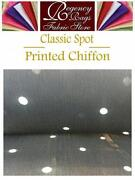 Multi Coloured Spot Fabric