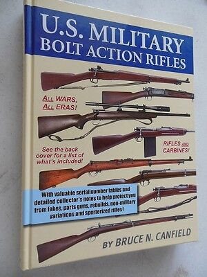 U.S. Military Bolt action Rifles gun book WW 1 WW 2  Rare Serial number info #3