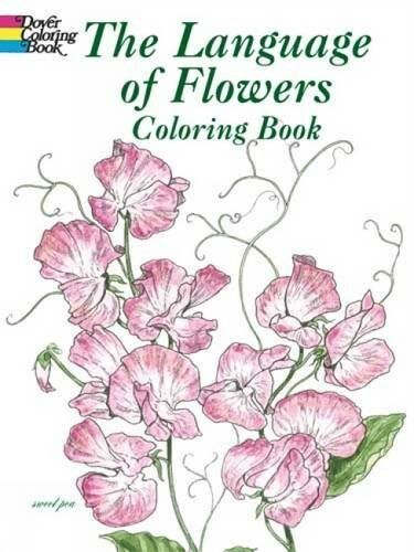 Flowers Coloring Book Children Activity Art Relaxing Beautiful Creative Adult