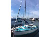 18ft Seafarer Day sailer Boat
