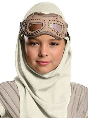 New Girl Halloween Episode (Star Wars: Episode Vii Rey Adult Eyemask Hood Costume Accessory- One Size)