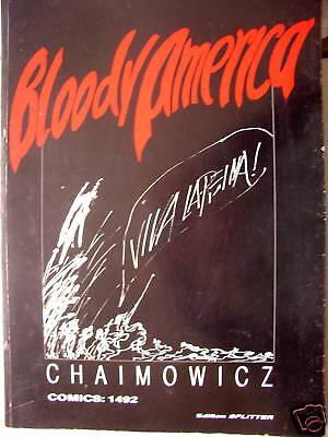 Bloody America 1969 Chaimowicz Comics 1492 signiert