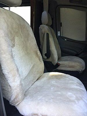Motor Home Sprinter Seat Covers Sheepskins Australian pelt, class B or C RV!