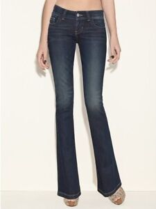 NWT GUESS WOMEN'S DAREDEVIL BOOT JEANS SIZE 28 MYSTERY WASH LOW RISE REGULAR FIT