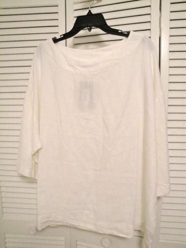 Women Plus Size Linen Shirts Ebay