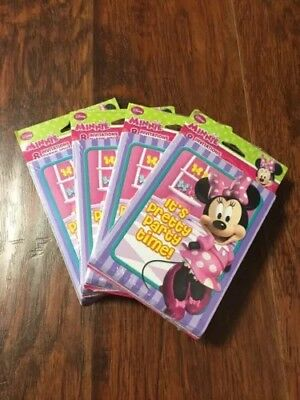 Lot Of 4 Minnie Mouse Birthday 8 Invitations 8 Thank You Cards 32 Each](Minnie Mouse Thank You Cards)