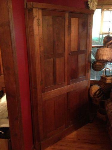 Primitive Corner Cabinet Ebay