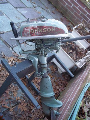 Johnson Outboard Motor Parts Ebay