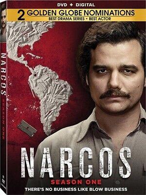 Narcos Season Tv Series Complete Season One 1 New Sealed 4 Dvd Set