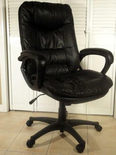 Used Leather Office Chair Ebay
