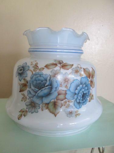Blue Hurricane Lamp Shade Ebay
