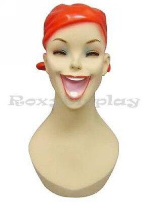 Female Mannequin Head Bust Vintage Wig Hat Jewelry Display #Y5
