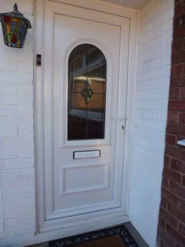 Upvc arched door ebay for Reclaimed upvc doors