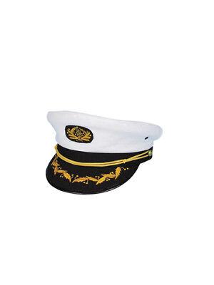 Navy Captain Hat Sailor Halloween Costumes Accessories - Captain Hat Halloween