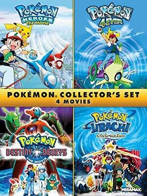 Pokemon Collectors Set [New DVD]