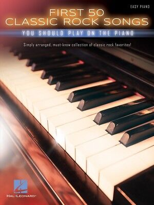 First 50 Classic Rock Songs You Should Play On Piano Sheet Music Easy 000195619