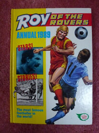 ROY of the Rovers 1989 Annual. For Sale - Collectable