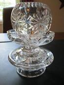Partylite Crystal Candle Holder