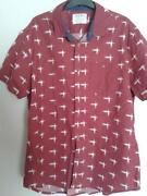 Mens Short Sleeve Shirts XL