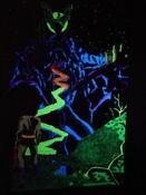 Castle Blacklight Poster