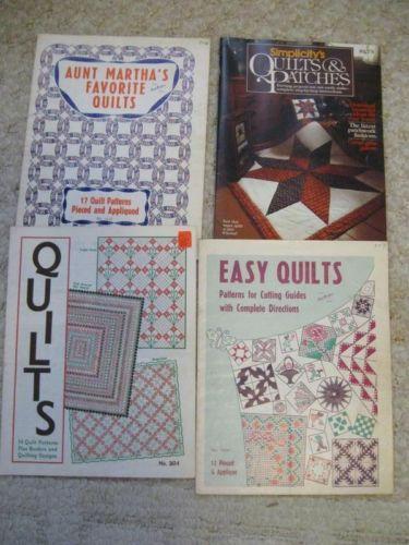 Vintage Quilt Pattern Book Ebay