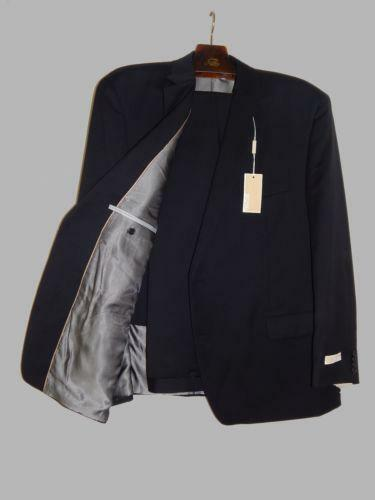 Mens 38 R Black Raffinatti Cutaway Jacket Tuxedo Morning: Mens Suit 38 Short