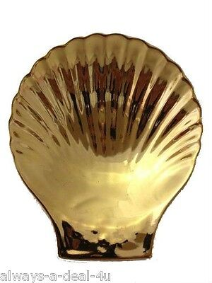 NEW 22k GOLD PLATED SHELL FROM APILCO FRANCE