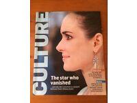 NEW - Winona Ryder – Culture magazine – 14 October 2012