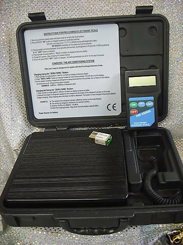 ELECTRONIC CHARGING SCALE HEAVY DUTY 175 lb. Capacity