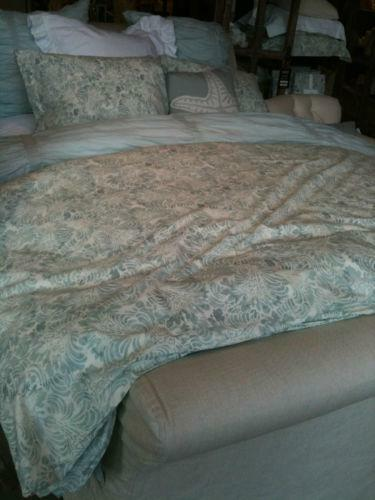 Pottery Barn Queen Duvet Shams Ebay