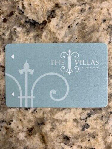 THE MIRAGE Las Vegas VILLAS Room Key