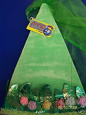 Green Forest Princess Cone Hat Child Fabric Dress Up](Princess Cone Hat)