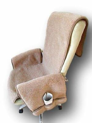 Sesselschoner Lama/Alpaca mit Anti-Rutsch mit Taschen Sesselauflage Überwurf