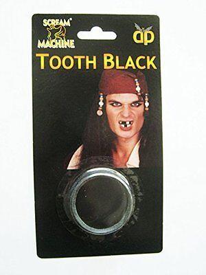 Piraten schwarz Hundezahn Halloween Toothless Make-Up Kostüm vergrößerte Stau zu ()