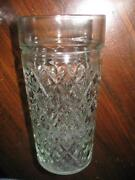 Diamond Quilted Depression Glass