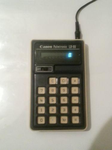 Canon Palmtronic Vintage Calculators Ebay