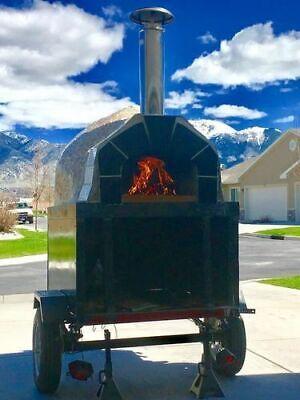 2015 Forno Bravo Casa 2g80 Wood-fired Brick Oven Pizza Concession Trailer For Sa