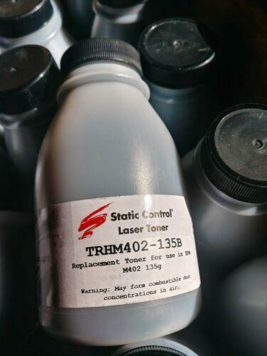 Qty. 20 bottles *135g/bottle Black Replacement Toner for HP®LaserJet M402, M426