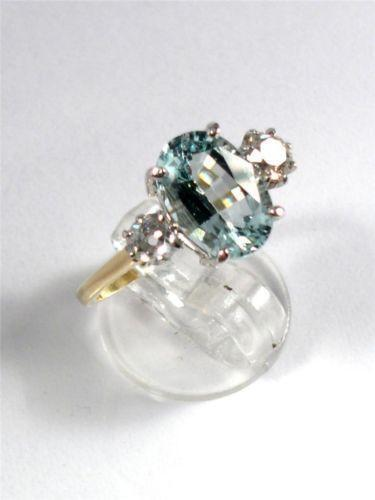 Art Deco Aquamarine Ring Ebay