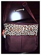 Animal Print Diaper Bag