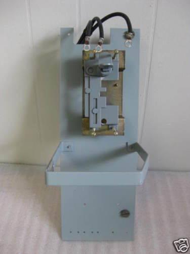 "General Electric 7098 6"" 150 A Amp MCC Feeder Bucket"