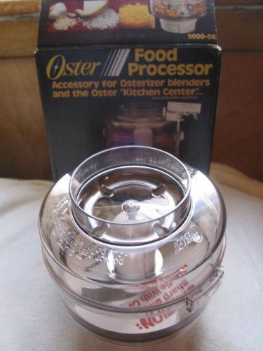 Oster Food Processor Attachment Ebay