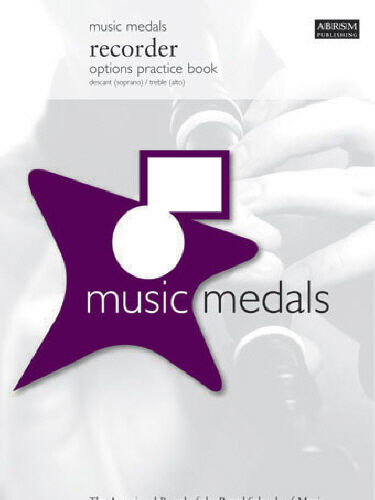 ABRSM: Music Medals Recorder Options Practice Book AB517
