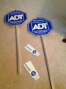 ADT Security Signs