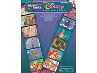 Disney favourites sheet music for pianos, keyboards. 2nd edition