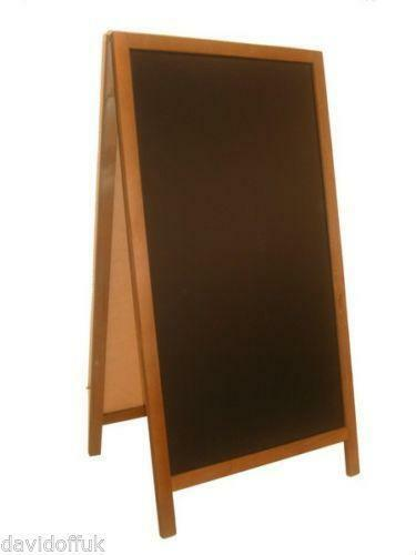 blackboard sandwich board advertising shop signs ebay. Black Bedroom Furniture Sets. Home Design Ideas