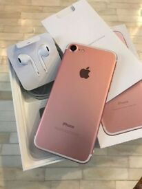 Apple iPhone 128gb Rose Gold o2