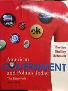 American Government and Politics Today 2011-2012