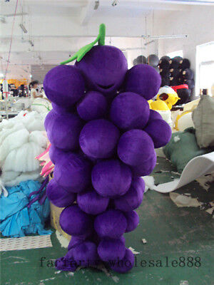Halloween grape Mascot Costume Birthday Party fancy Dress advertising Adults new