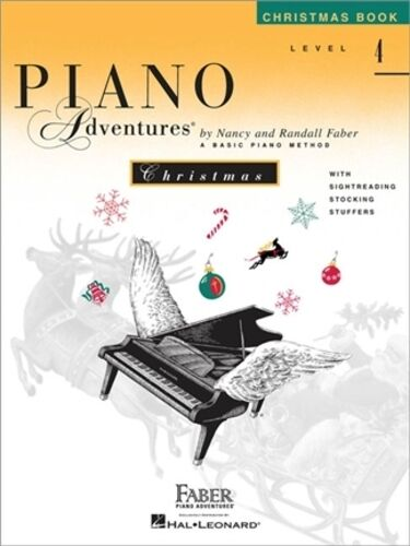 Piano Adventures Christmas Book, Level 4, Book Only, HL00420210 - 9781616771423